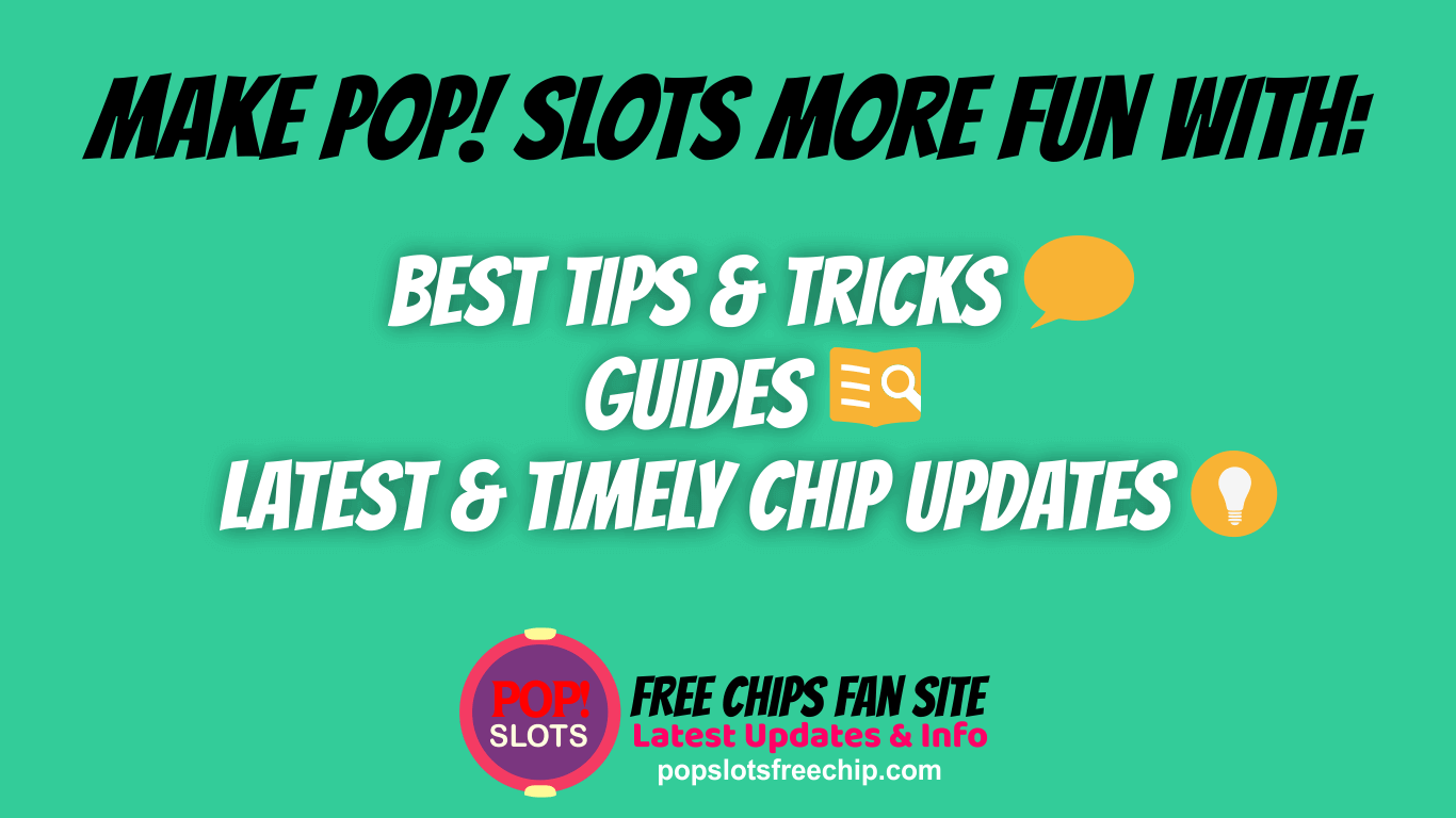 More Fun in Pop Slots with Our Fan Site